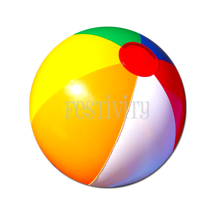 Classic Beach Balls (Pack of 6) | Festivity